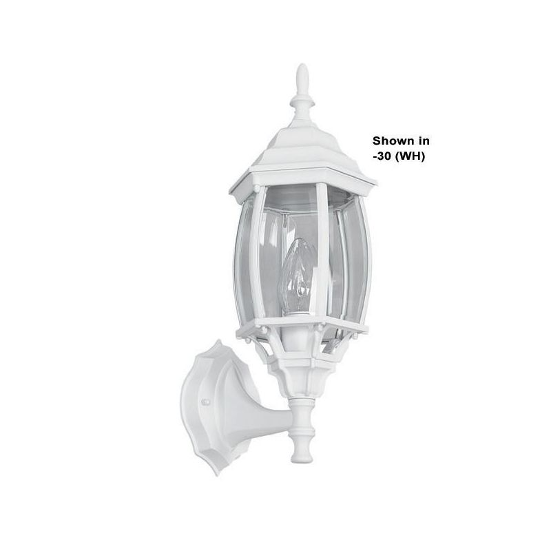 "Sunset Lighting F7815 1 Light 16.9375"" Height Outdoor Wall Sconce"