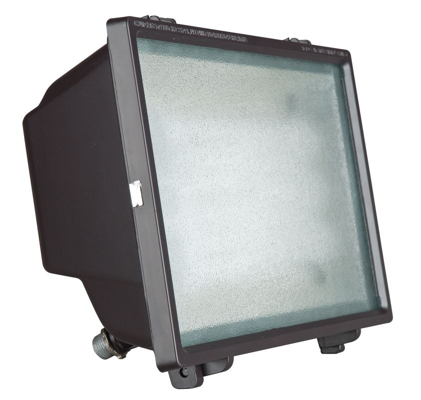 Sunset Lighting F7837 65 Watt Outdoor Fluorescent Flood Light Bronze