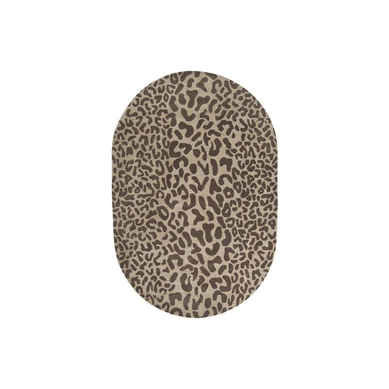 Surya ATH-5000 Athena Hand Tufted Wool Rug Brown 6 x 9 Oval Home Decor
