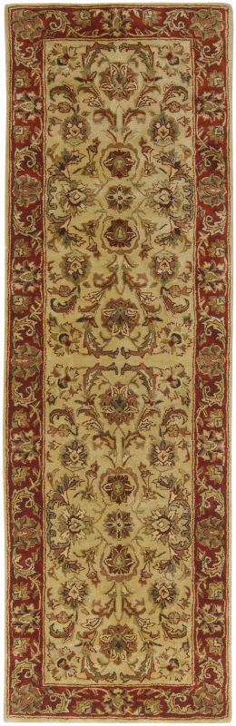 Surya A-111 Ancient Treasures Hand Tufted New Zealand Wool Rug Gold 2