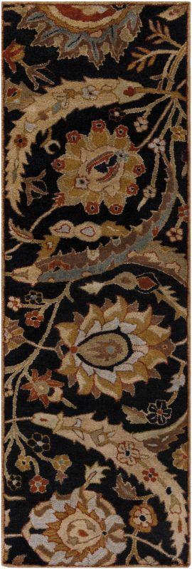 Surya A-154 Ancient Treasures Hand Tufted New Zealand Wool Rug Gray 2