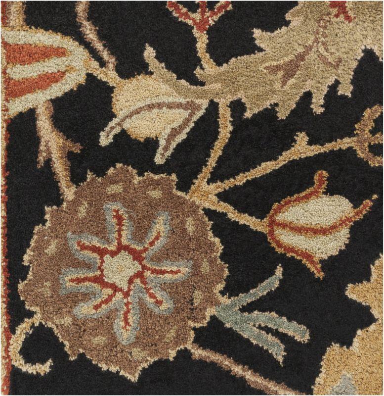 Surya A-154 Ancient Treasures Hand Tufted New Zealand Wool Rug Gray 9