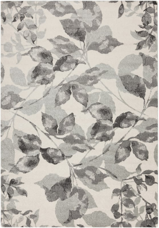 Surya ABE-8001 Aberdine Power Loomed Polypropylene Rug Gray 7 1/2 x 10