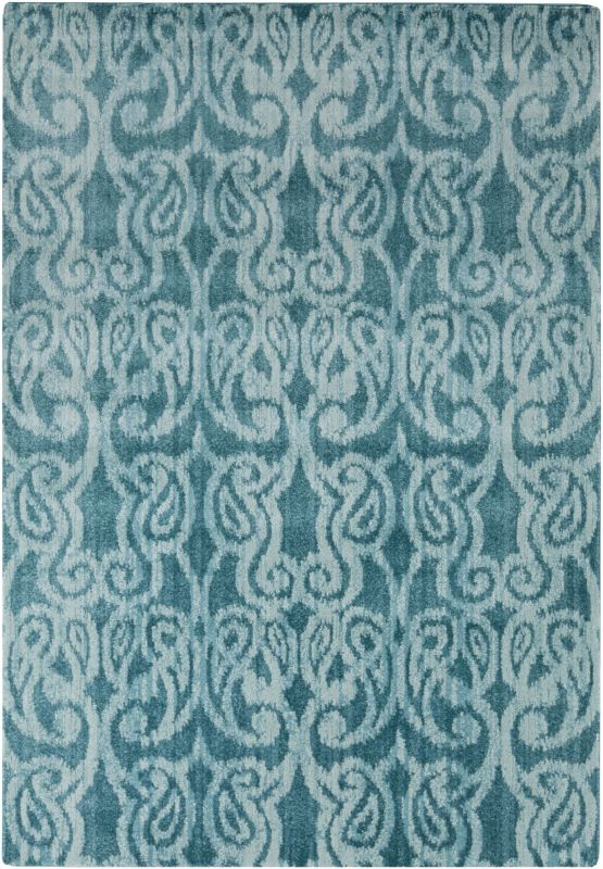 Surya ABE-8009 Aberdine Power Loomed Polypropylene Rug Green 2 x 3