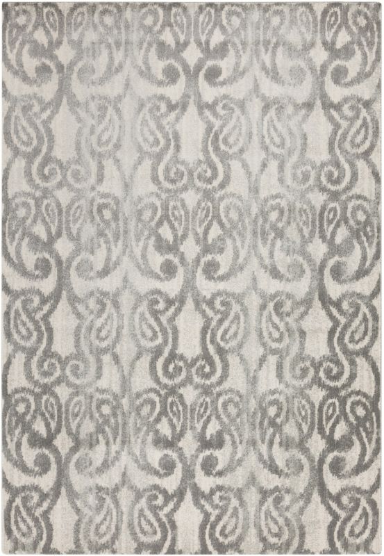 Surya ABE-8012 Aberdine Power Loomed Polypropylene Rug Gray 2 x 3 Home