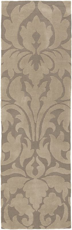 Surya ABI-9004 Abigail Power Loomed Polypropylene Rug Brown 2 1/2 x 8
