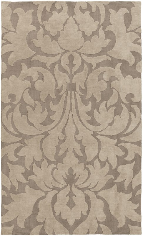 Surya ABI-9004 Abigail Power Loomed Polypropylene Rug Brown 5 x 8 Home