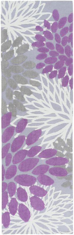 Surya ABI-9055 Abigail Power Loomed Polypropylene Rug Purple 8 x 11