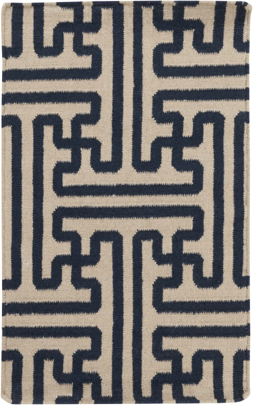 Surya ACH-1700 Archive Hand Woven Wool Rug Blue 2 x 3 Home Decor Rugs Sale $76.80 ITEM: bci2656224 ID#:ACH1700-23 UPC: 764262233803 :