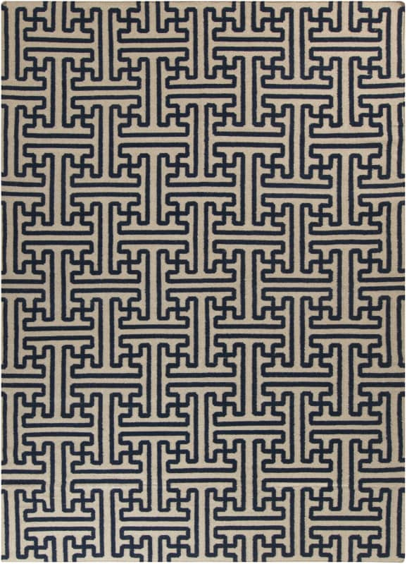 Surya ACH-1700 Archive Hand Woven Wool Rug Blue 8 x 11 Home Decor Rugs Sale $921.60 ITEM: bci2656227 ID#:ACH1700-811 UPC: 764262233797 :