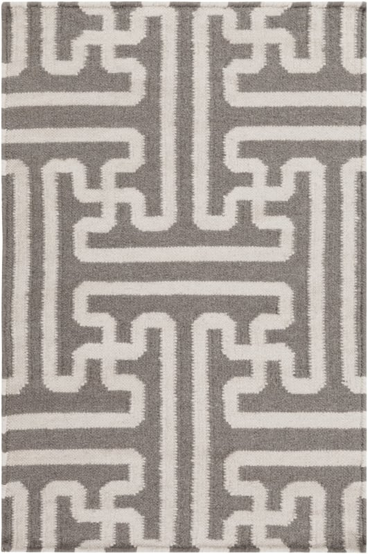 Surya ACH-1702 Archive Hand Woven Wool Rug Brown 2 x 3 Home Decor Rugs