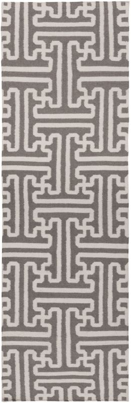 Surya ACH-1702 Archive Hand Woven Wool Rug Brown 2 1/2 x 8 Home Decor