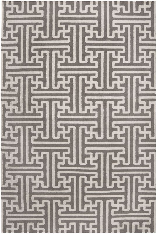 Surya ACH-1702 Archive Hand Woven Wool Rug Brown 5 x 8 Home Decor Rugs