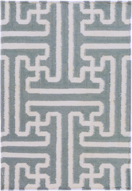 Surya ACH-1703 Archive Hand Woven Wool Rug Gray 3 1/2 x 5 1/2 Home