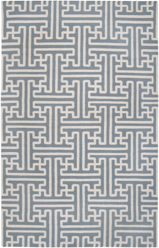 Surya ACH-1703 Archive Hand Woven Wool Rug Gray 5 x 8 Home Decor Rugs
