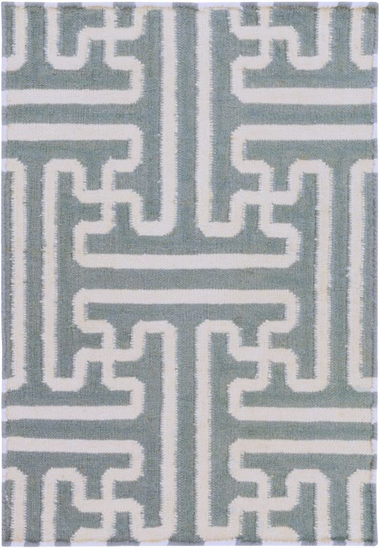 Surya ACH-1703 Archive Hand Woven Wool Rug Gray 9 x 13 Home Decor Rugs