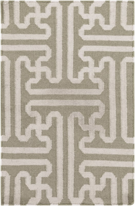 Surya ACH-1705 Archive Hand Woven Wool Rug Brown 2 x 3 Home Decor Rugs