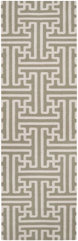 Surya ACH-1705 Archive Hand Woven Wool Rug Brown 2 1/2 x 8 Home Decor