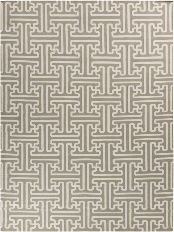 Surya ACH-1705 Archive Hand Woven Wool Rug Brown 8 x 11 Home Decor