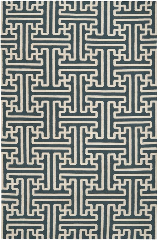 Surya ACH-1708 Archive Hand Woven Wool Rug Green 5 x 8 Home Decor Rugs