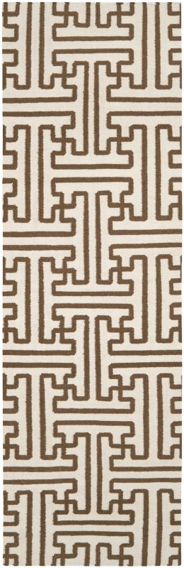 Surya ACH-1709 Archive Hand Woven Wool Rug Brown 2 1/2 x 8 Home Decor