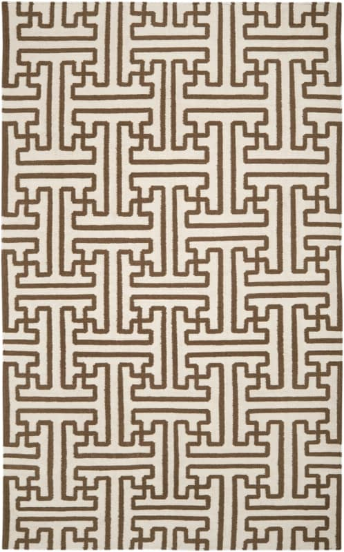 Surya ACH-1709 Archive Hand Woven Wool Rug Brown 5 x 8 Home Decor Rugs