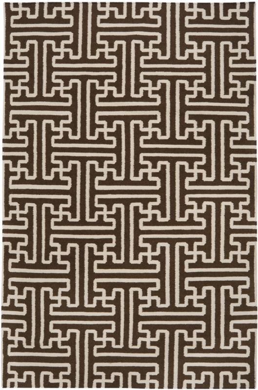 Surya ACH-1710 Archive Hand Woven Wool Rug Brown 5 x 8 Home Decor Rugs