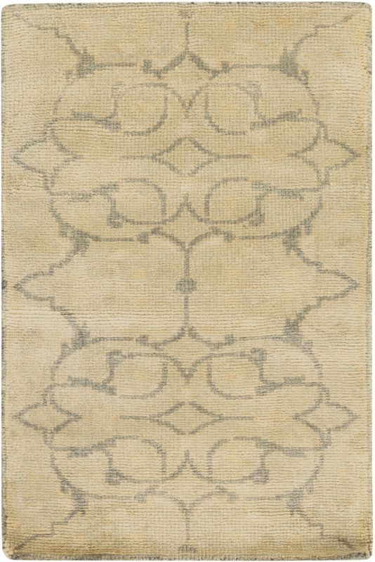 Surya AIN-1013 Ainsley Hand Knotted New Zealand Wool Rug Green 3 1/2 x