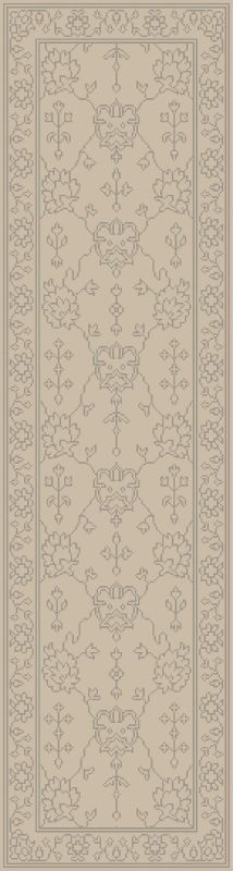 Surya AIN-1018 Ainsley Hand Knotted New Zealand Wool Rug Green 3 1/2 x