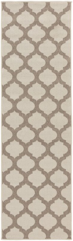 Surya ALF-9586 Alfresco Power Loomed Polypropylene Rug Brown 2 x 4 1/2 Sale $39.60 ITEM: bci2656413 ID#:ALF9586-2346 UPC: 764262736342 :