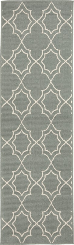 Surya ALF-9589 Alfresco Power Loomed Polypropylene Rug Green 2 x 4 1/2 Sale $39.60 ITEM: bci2656452 ID#:ALF9589-2346 UPC: 764262736731 :