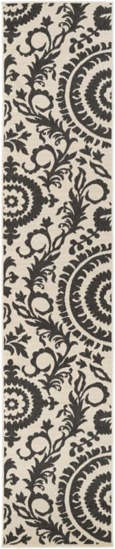 Surya ALF-9612 Alfresco Power Loomed Polypropylene Rug Gray 3 1/2 x 5 Sale $60.00 ITEM: bci2656753 ID#:ALF9612-3656 UPC: 764262745566 :