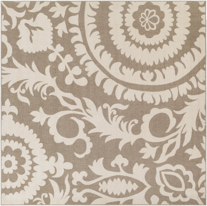 Surya ALF-9616 Alfresco Power Loomed Polypropylene Rug Brown 8 1/2 x 8 Sale $235.20 ITEM: bci2656813 ID#:ALF9616-89SQ UPC: 764262747706 :