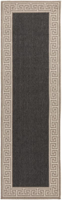 Surya ALF-9626 Alfresco Power Loomed Polypropylene Rug Blue 6 x 9 Home