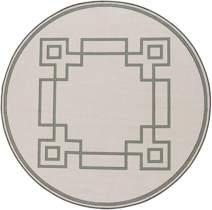 Surya ALF-9629 Alfresco Power Loomed Polypropylene Rug Off-White 7 x 7 Sale $159.60 ITEM: bci2656980 ID#:ALF9629-73RD UPC: 764262750522 :