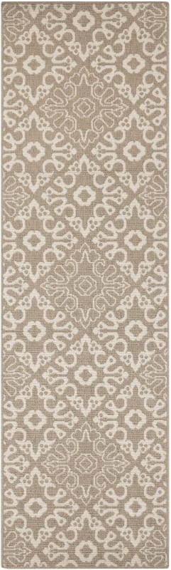 Surya ALF-9635 Alfresco Power Loomed Polypropylene Rug Brown 6 x 9
