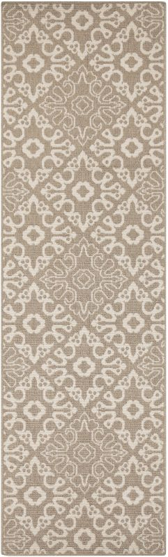 Surya ALF-9635 Alfresco Power Loomed Polypropylene Rug Brown 8 1/2 x
