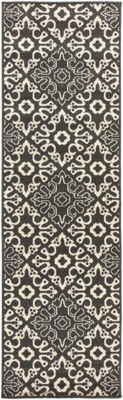 Surya ALF-9637 Alfresco Power Loomed Polypropylene Rug Black 8 1/2 x Sale $342.60 ITEM: bci2657085 ID#:ALF9637-89129 UPC: 764262753165 :