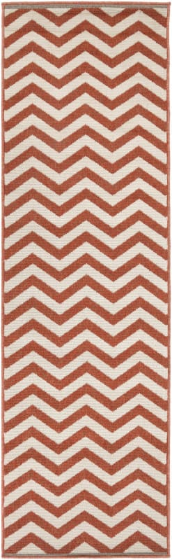 Surya ALF-9647 Alfresco Power Loomed Polypropylene Rug Red 7 1/2 x 10