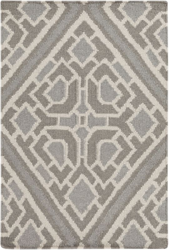 Surya AMD-1008 Alameda Hand Woven Wool Rug Gray 2 x 3 Home Decor Rugs