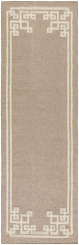 Surya AMD-1015 Alameda Hand Woven Wool Rug Off-White 2 1/2 x 8 Home Sale $244.20 ITEM: bci2657417 ID#:AMD1015-268 UPC: 764262871845 :