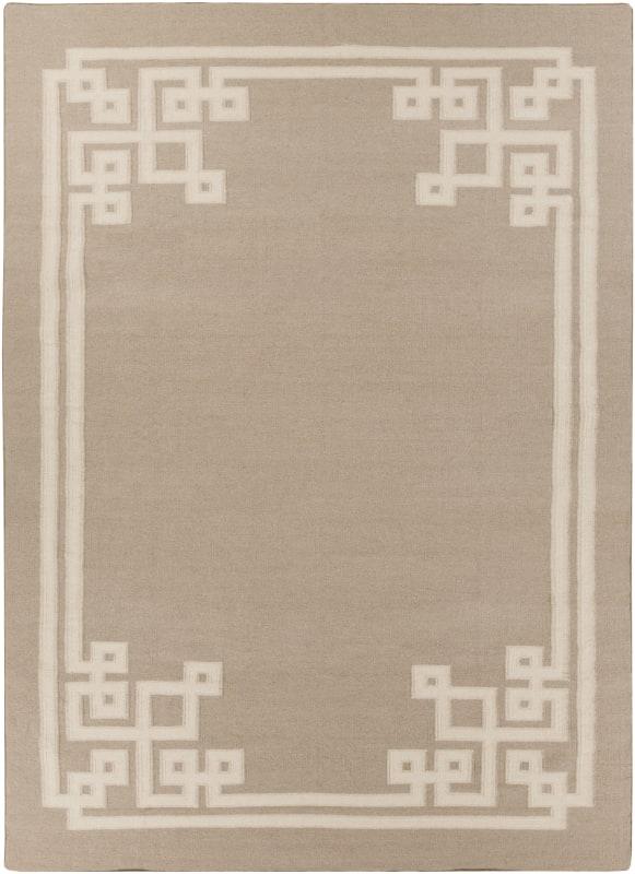 Surya AMD-1015 Alameda Hand Woven Wool Rug Off-White 8 x 11 Home Decor
