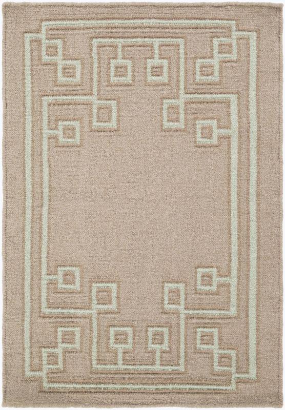 Surya AMD-1020 Alameda Hand Woven Wool Rug Brown 2 x 3 Home Decor Rugs