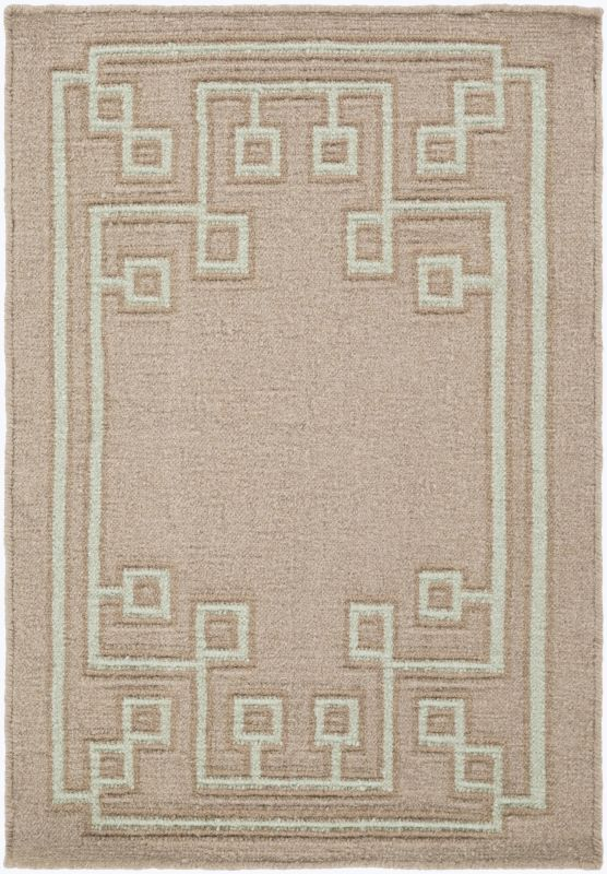 Surya AMD-1020 Alameda Hand Woven Wool Rug Brown 3 x 5 Home Decor Rugs