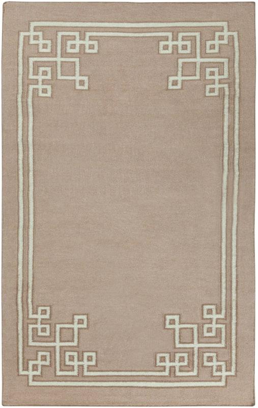 Surya AMD-1020 Alameda Hand Woven Wool Rug Brown 5 x 8 Home Decor Rugs