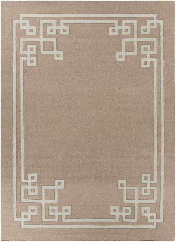 Surya AMD-1020 Alameda Hand Woven Wool Rug Brown 8 x 11 Home Decor