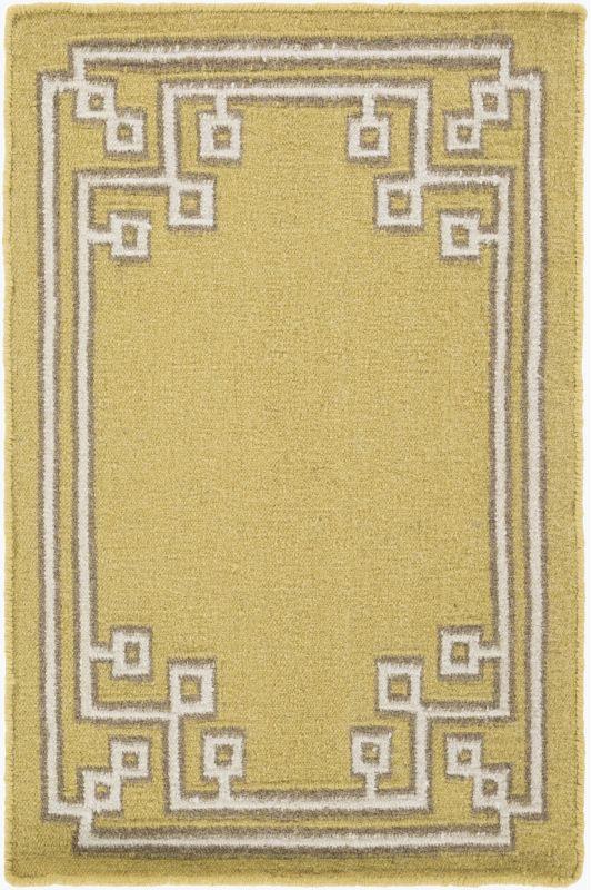 Surya AMD-1021 Alameda Hand Woven Wool Rug Green 2 x 3 Home Decor Rugs