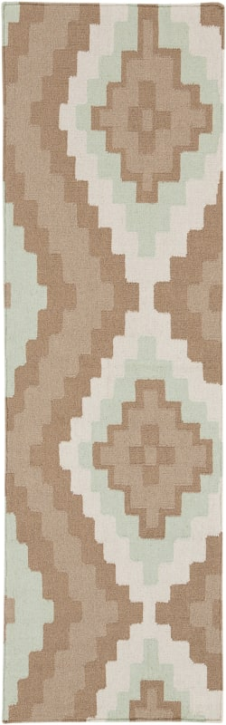 Surya AMD-1035 Alameda Hand Woven Wool Rug Gray 2 1/2 x 8 Home Decor Sale $166.60 ITEM: bci2657462 ID#:AMD1035-268 UPC: 764262872842 :