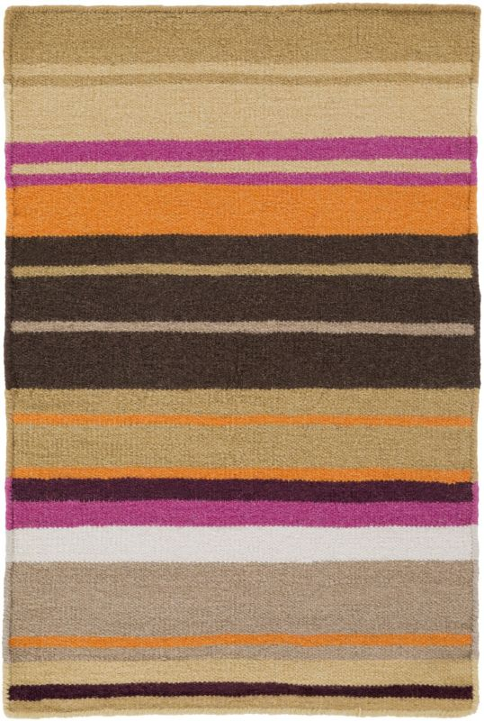 Surya AMD-1051 Alameda Hand Woven Wool Rug Pink 8 x 11 Home Decor Rugs
