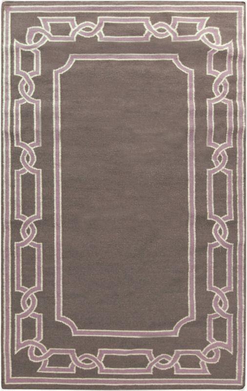 Surya AMD-1054 Alameda Hand Woven Wool Rug Brown 8 x 11 Home Decor